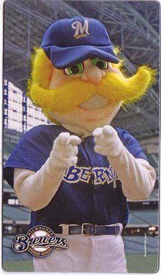 Milwaukee Brewers mascot - Bernie