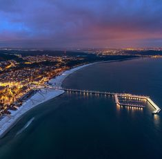 Beautiful Sopot in Winter. Poland