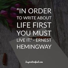 Learn the wisdom from one of the most influential writers of the century. Here are some of the best Ernest Hemingway quotes to inspire your writing. Ernest Hemingway, Earnest Hemingway Quotes, Moving To Idaho, I Love Sleep, Narrative Essay, Famous Words, Writing Quotes, Love Words, Favorite Quotes