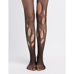 Charlotte Russe Sheer Fishnet Tights ($4) ❤ liked on Polyvore featuring intimates, hosiery, tights, sheer tights, fishnet hosiery, charlotte russe, fishnet pantyhose and sheer hosiery