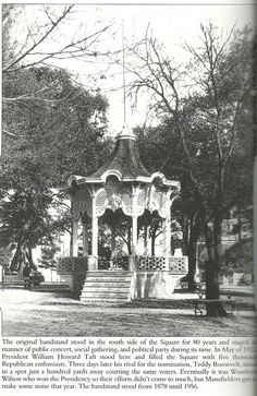 Bandstand on square!