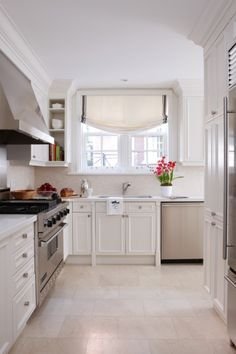 Kitchen floor, cabinets, handles, appliances?