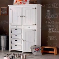 GREAT BARRIER Konyhai szekrény 122x54x1805 Storage Organization, Locker Storage, Messy House, Cupboard Storage, Fun Crafts, Shelving, Vintage, Cupboards, Furnitures