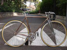 // Steel Pista Classic Custom Frame
