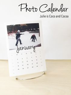 Create a personalized photo calendar in just a few simple steps! ‪#‎SaveYourMemories‬ ad - Julie is Coco and Cocoa
