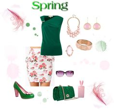"""""""Spring"""" by suntanbabe on Polyvore"""