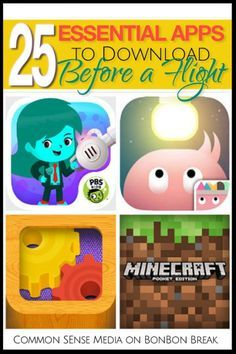 These are GREAT! These apps will keep your kids busy on ANY length flight.