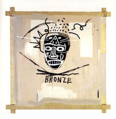 Basquiat - Bronze.