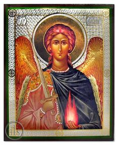 Archangel URIEL, Orthodox Icon