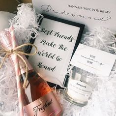 Make the 'be my bridesmaid' box perfectly personal with these cute customisable sweet vanilla natural scent candles DM us for more info or email thewedboxco@gmail.com and we'll be happy to help you create the perfect gift  • • •  #giftbox #weddinghamper #weddinggift #gift #giftideas #giftsforbrides #personalised #bride #bridesmaids #weddinggifts #weddingbox #thewedbox #bridetobe #rockmywedding #henparty #bemybridesmaid #weddingday #bridesmaidgifts #lukh