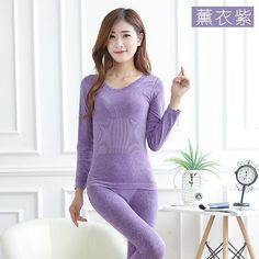 Women Tunic Winter Thermal Underwears Seamless Breathable Warm Long Johns  Ladies 2016 New c2c060d68703