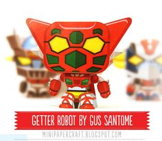 Gus Santome - awesome papercrafts