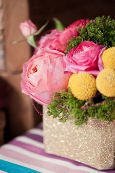 Oh So Beautiful Paper: Paper Party 2013! Floral arrangements by Soiree Floral, Photo Credit: Charlie Juliet Photography