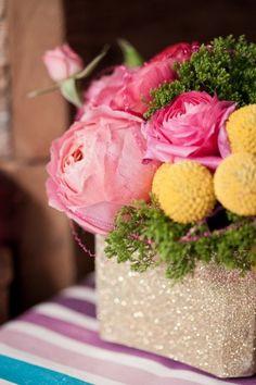 Oh So Beautiful Paper: Dana + Matt's Rustic Floral Wood Veneer Wedding Invitaions
