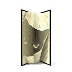 Book folding pattern CATS HEAD 155 folds von SimplexBookFolding