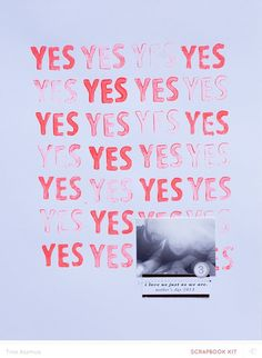 YES *MKO by lifelovepaper at Studio Calico