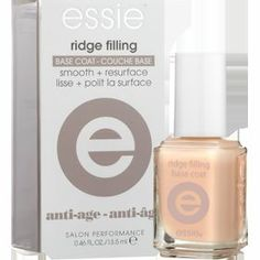 Essie Ridge Filling Base Coat: Ridges on your toe nails? Wait until you see how much better your pedis are going to look!