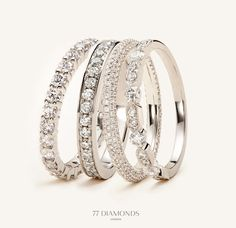 Find the perfect #eternity ring #diamonds #jewellery @77 Diamonds