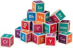 Periodic Table Building Blocks on www.amightygirl.com