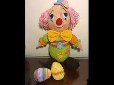 Cuerpo payaso amigurumi paso a paso 3/6 crochet tejido en crochet - YouTube