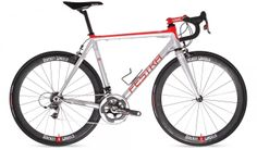 @Festka Zero Carbon. Custom carbon lugged frame. With Rocket Wheels, SRam Red 22 and Cinelli stem.