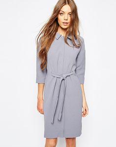 Bild 1 von Selected – Jano – Kleid mit Bindegürtel
