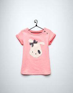 puppy velour dress - Dresses - Baby girl (3-36 months) - Kids - ZARA United Kingdom