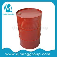 55 gallon or 200L steel drum with lids steel barrel-qiming packaging  (3)