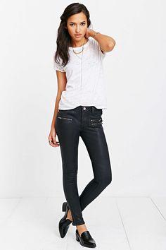 Zoe Karssen Ankle Slim-Fit Jean - Rock And Roll Black