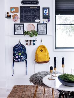 The well-designed HGTV Urban Oasis 2019 shows you how to control the chaos, with clever organizational strategies and tools that make it easy to find exactly what you need. Shed Room Ideas, House Ideas, Drop Zone, Inside Home, Aesthetic Rooms, New Room, Home Organization, Decoration, Home Interior Design