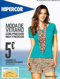 catalogo hipercor moda de verano 2014