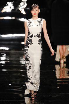 Reem Acra at New York Fashion Week Fall 2013