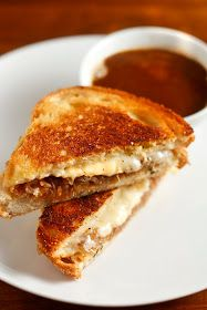 The Chubby Vegetarian: French Onion Grilled Cheese
