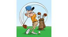 golfer Golf Clip Art, Golf Art, Cartoon Drawings, Cartoon Art, Pencil Drawings, Art Courses, Golf Outfit, Ladies Golf, Golf Tips