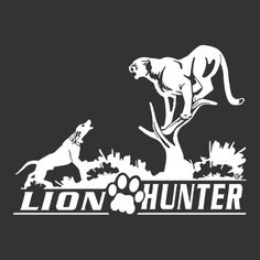 Mountain Lion decal  #lionintreed #lion-decal