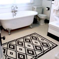 Winner: Hand-Laid Tile: After from Best Bath Before and Afters 2012, wow, what a labor of love on that tile job.