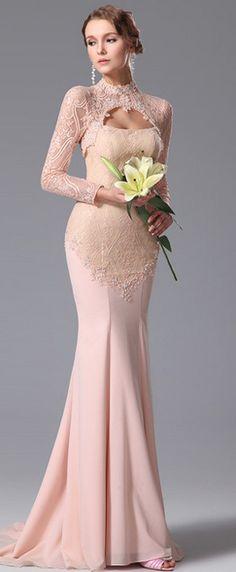 eDressit Lace Bolero Two Pieces Evening Dress