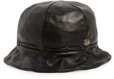 38e77522 Gucci Leather Bucket Hat Gucci Designer, Leather Design, Gucci Bucket Hat,  Buy Gucci