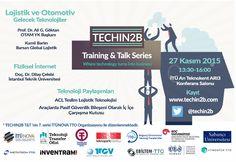 TECHIN2B Training & Talk Seminerine Davetlisiniz...