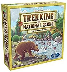 Trekking the National Parks. Plays similar to Ticket to Ride.