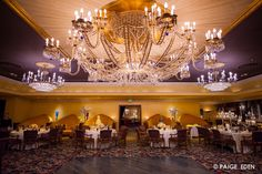 Absolutely beautiful reception room at the Broadmoor #Newberrybros #Denver #Wedding