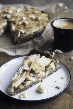 Raw Vegan, Stuffed Mushrooms, Autumn, Vegetables, Simple, Blog, Pie, Apple, Fall