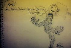 DARK SENSATION....: Random sketches...