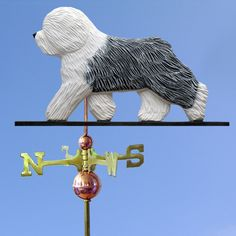 Old English Sheepdog Wood Hand Carved Weathervane Home Barn Roof Dog Products | eBay
