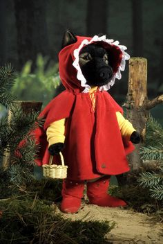 """Wilhelm"" Red Riding Hood Wolf"