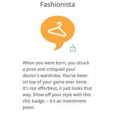 Thank you @influenster for the badge. You totally get my drift! I will 'wear' it with great honor. ~ Perfashionista