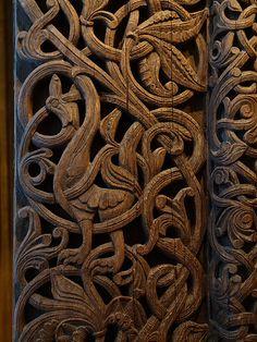 door of a stave church | Flickr: partage de photos!