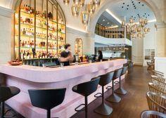 Tom Dixon assina restaurante colorido em Londres