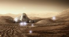 SpaceHabs With a projected settlement date of 2025, the Mars One project has received over 200,000 applications for the one way trip to the Red Planet. But creating a living, sustainable community on the distant planet for the select inhabitants will require not only unique technological and engineering solutions, but also novel architectural systems. Bryan Versteeg is a conceptual designer who's been working with the Mars One team in anticipation of the planet's eventual colonization.