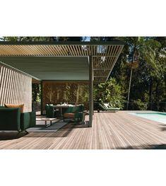 Pavilions PH1 Kettal Pavilion - Milia Shop Net Curtains, Outdoor Lounge, Outdoor Decor, Gazebo, Blinds, Living Spaces, Sweet Home, Art Deco, New Homes